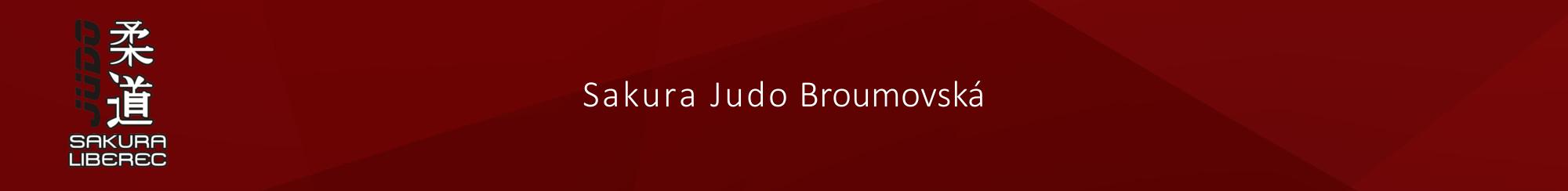 Sakura Judo Broumovská